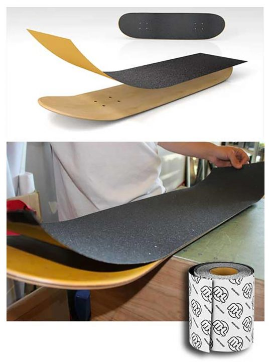Apply Militant Grip Tape